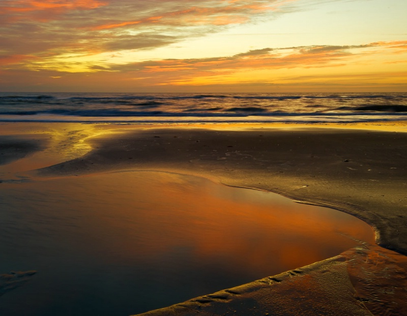 Tidal Pool at first light #2