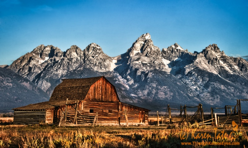 John Moulton Barn, Mormon Row, Wyoming