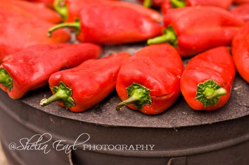 Roasted Peppers@@Skopje, Macedonia