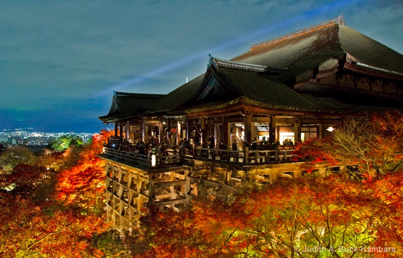 Kiyomizu Temple at Night