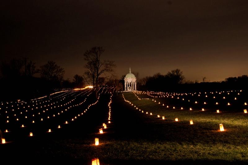 Antietam Battlefield Illumination