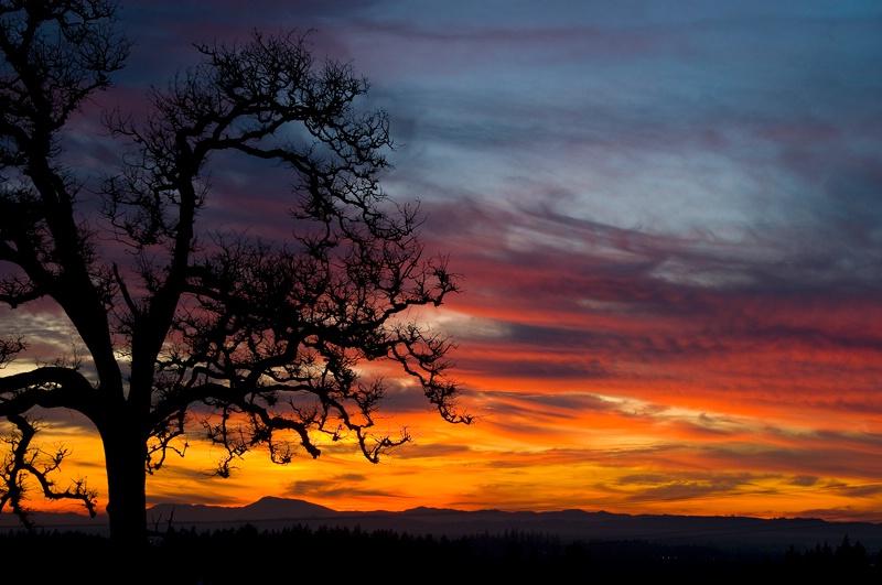 Sublimity, Oregon Sunset