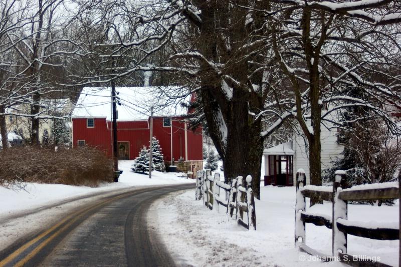 Winter Arrives in eastern PA