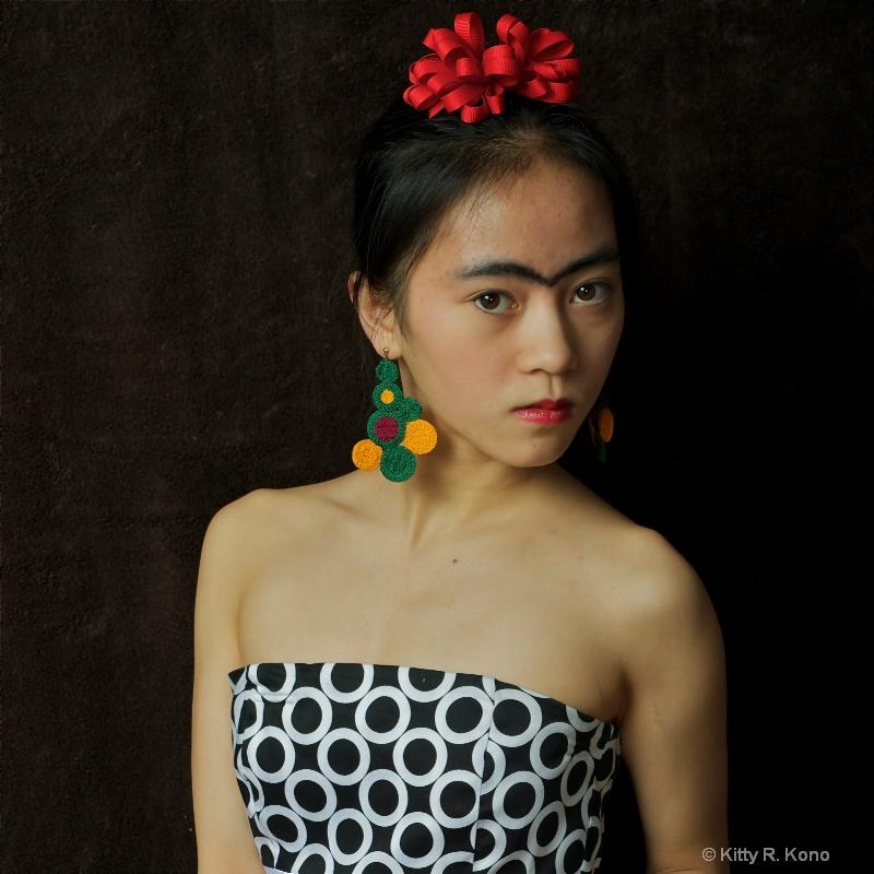 Yumiko as Frida Kahlo