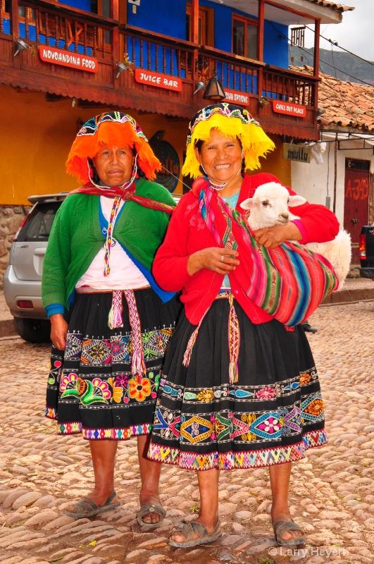 Local Peruvians at Pisac Market