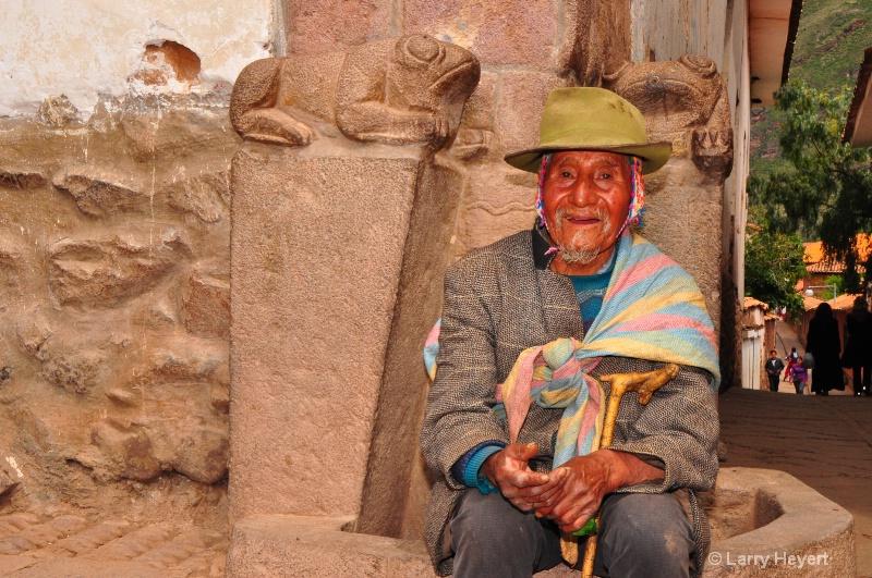 Local Peruvian at Pisac Market