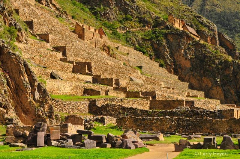 Peru- Archaelogical Park at Ollantaytambo