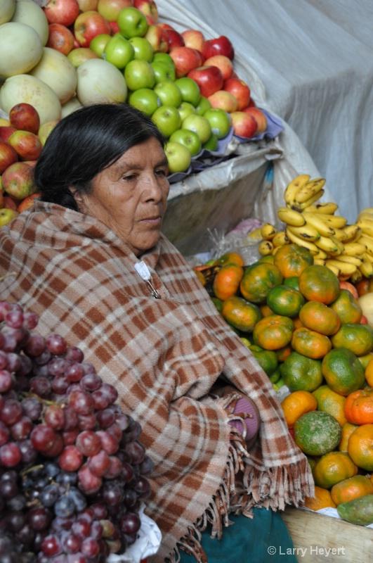 Peru- Marketplace in Cusco