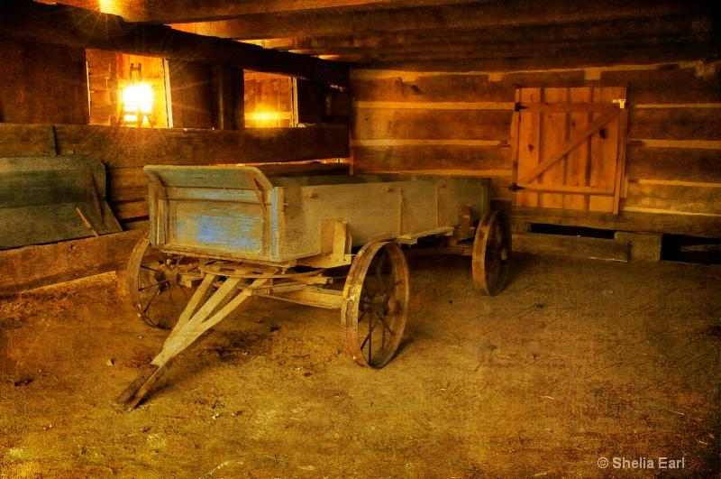 Old Barn, Old Wagon