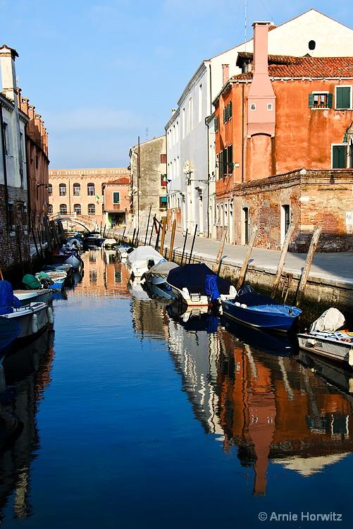 Canal Reflections - III