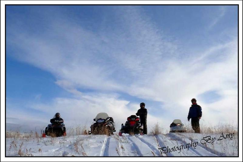 A Snowmobiler's Day Dream
