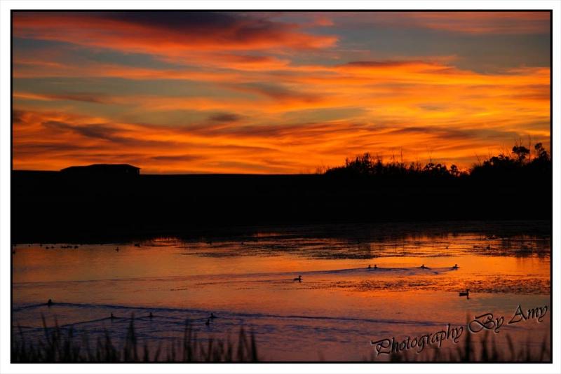 Saskatchewan Sunset in Full Color