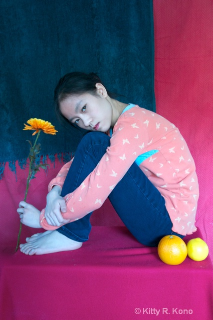 Yumiko as Matisse Painting