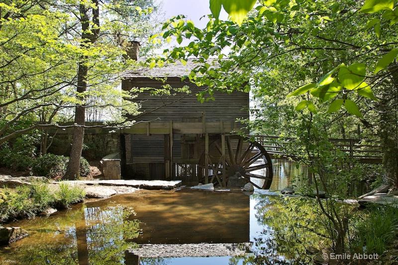 Grits Mill Stone Mountain, Georgia