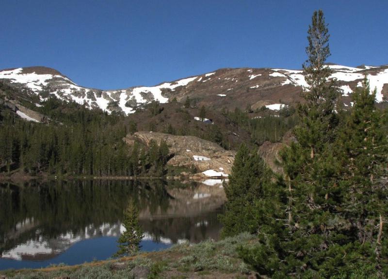 Mountain mirror moment
