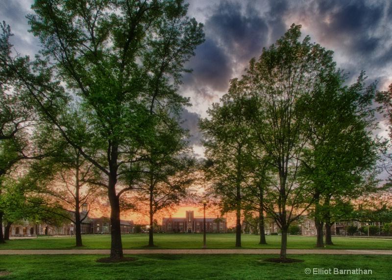 Washington University Sunset 3