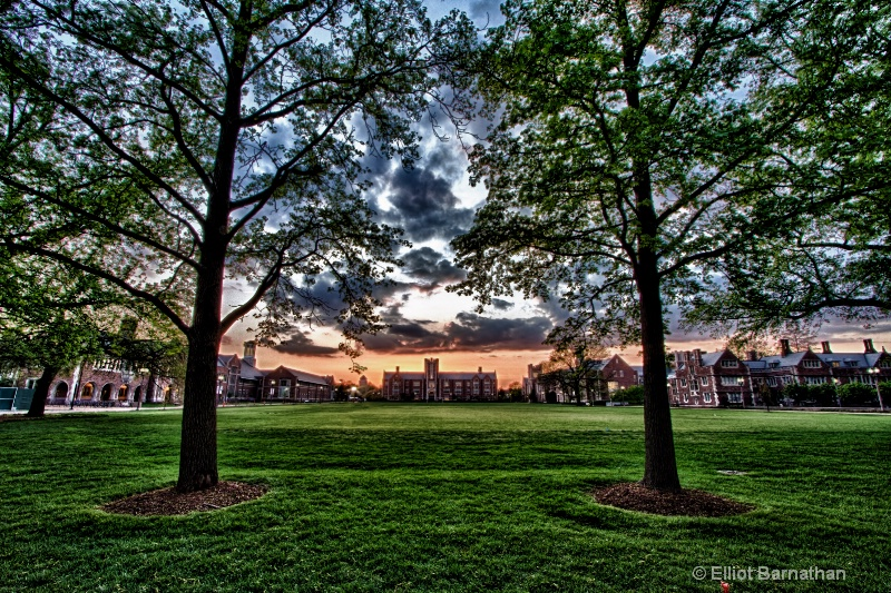 Washington University Sunset 2
