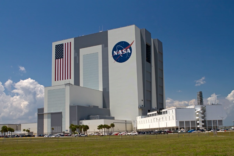NASA Vehical Assembly Building Day