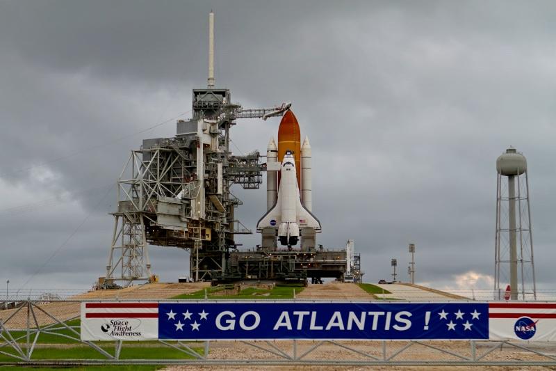 Atlantis on the Launching Pad