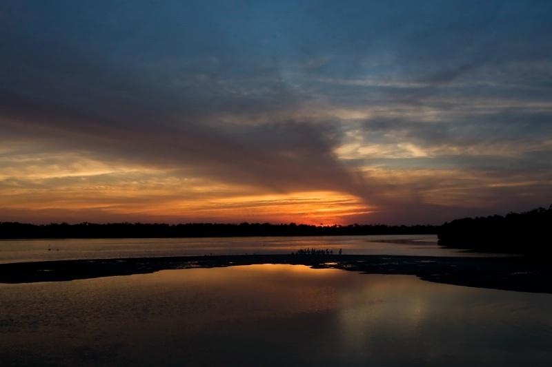 Sunset at Ding Darling Wildlife Refuge