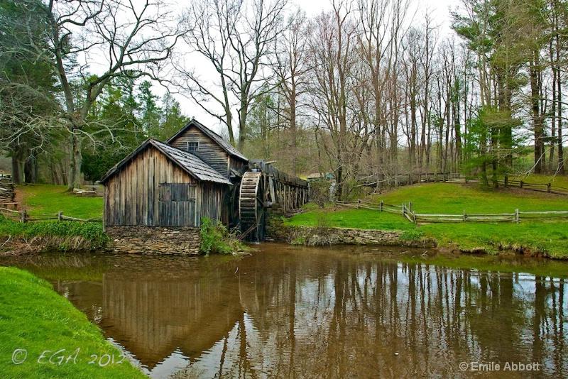 Mabry Mill on Blue Ridge Parkway