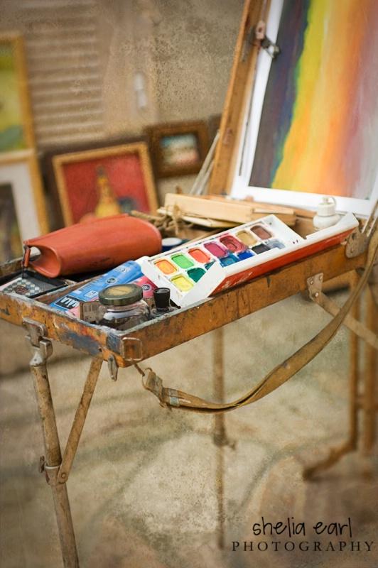 Watercolor Tray@@Skopje Bazaar