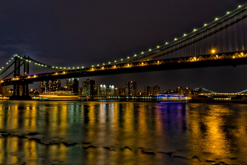 East River Reflections