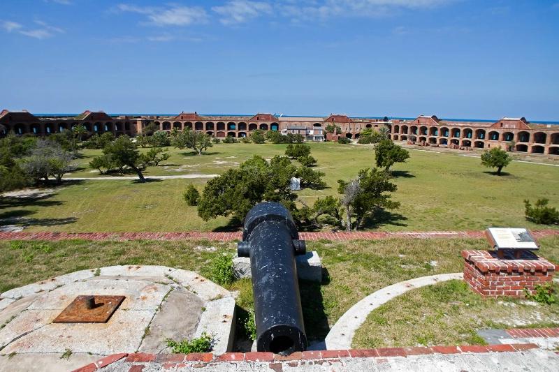 Fort Jefferson canon