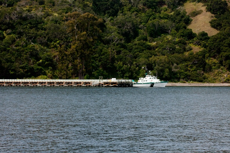 Entrance Dock to Santa Cruz Island