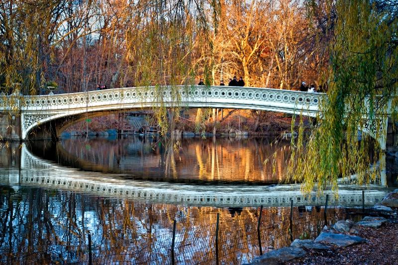 Bow Bridge Sunset