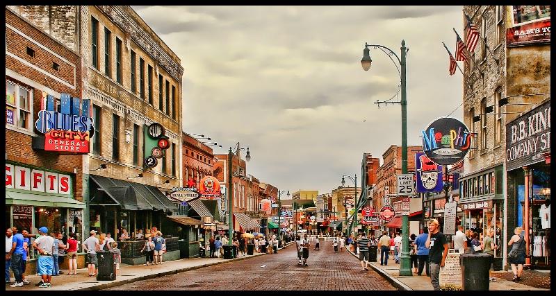 Beale Street, Tennessee
