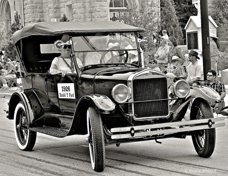 """""""1926 Model T Ford"""" for Bobby Ray Goodman"""