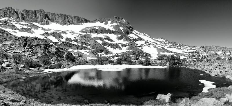 Vernal pond, Mokelumne Wilderness, CA