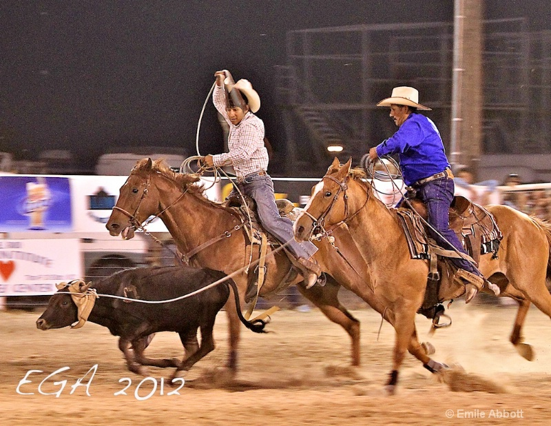 Father Son Team Roping