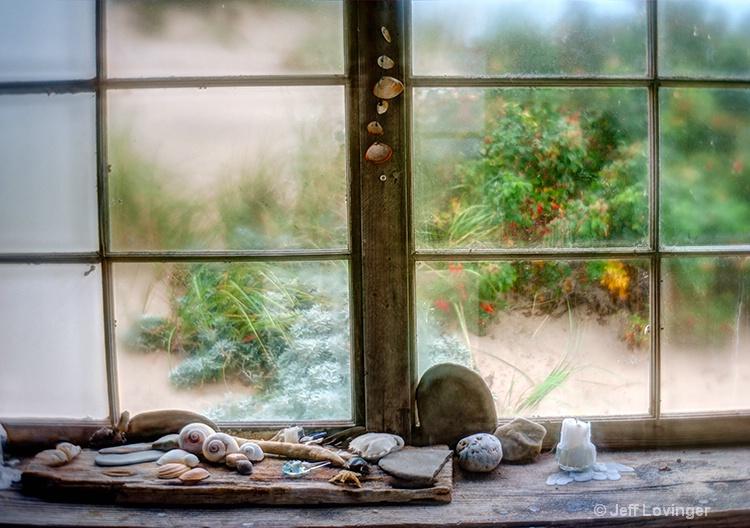 Shells and Window in Dunes