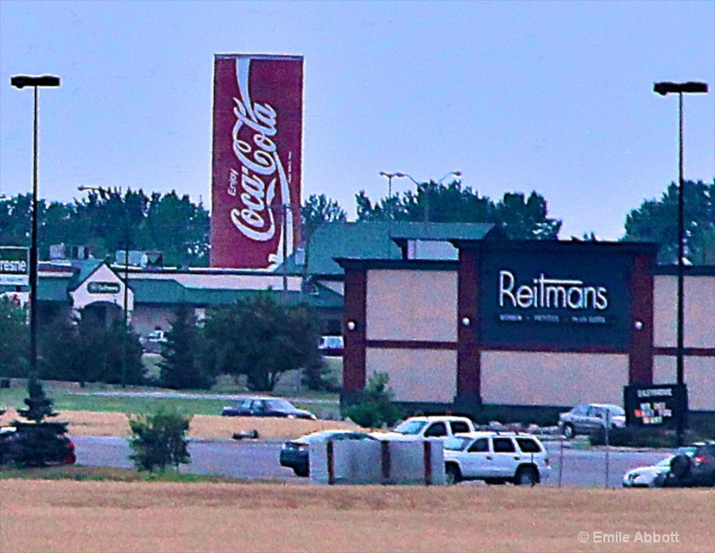 World's largest Coca Cola can