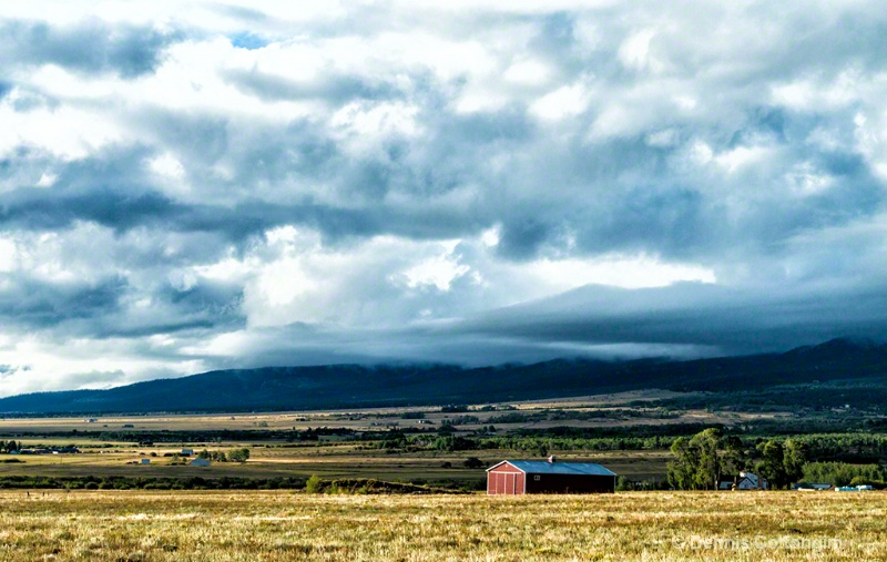 Low Clouds Over Westcliffe