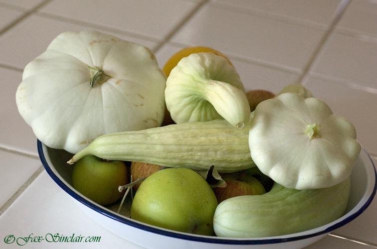 White Vegetables