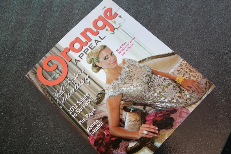 Cover!!! Orange Appeal magazine