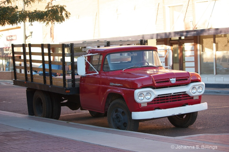 A Flat Bed Ford