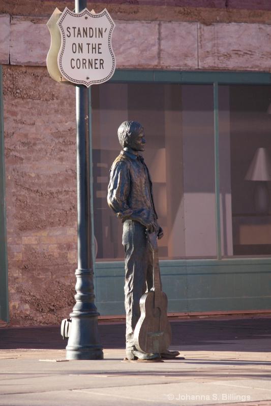 Statue on the Corner