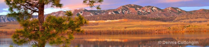 Mini Panorama of Chatfield State Reservoir