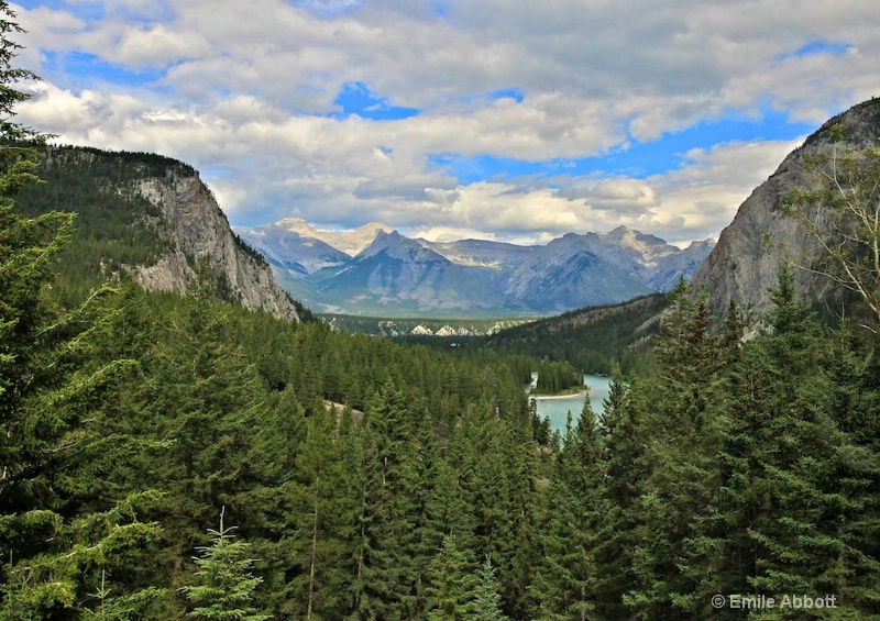 """""""The Million Dollar View""""  Bow River & Val"""