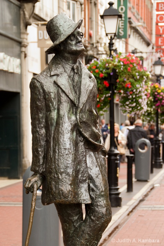 Mr. Joyce strolls in Dublin