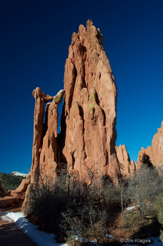 Garden of the Gods - Rock formation