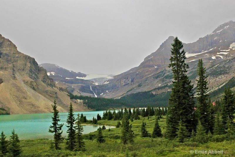 Bow Glacier feeding Bow Lake