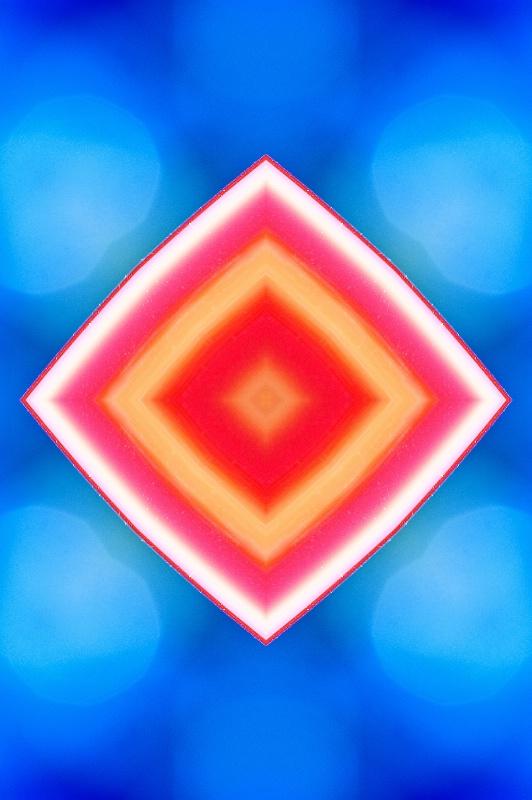 Glass Abstract-Kaleidscope