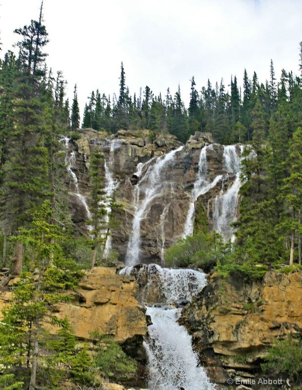 Tangle Falls, Icefields Parkway