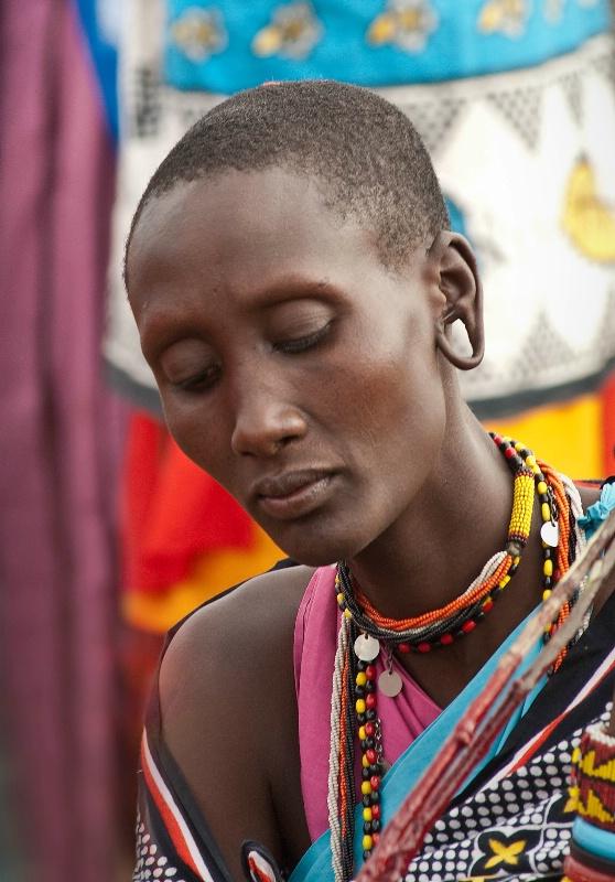 Masaii Woman #2