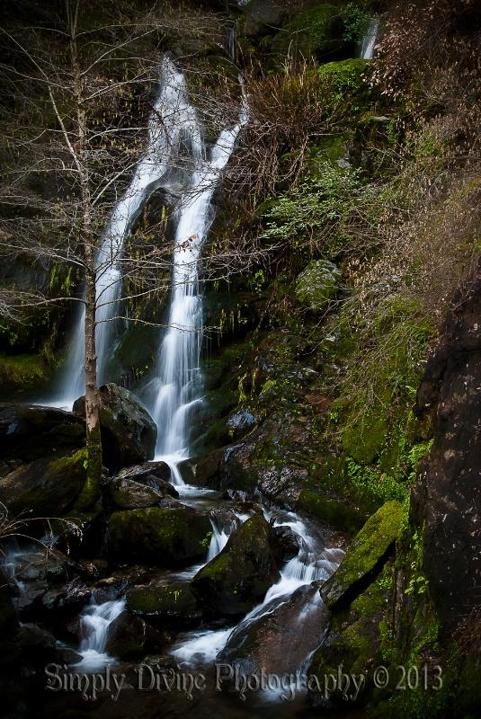 Devil's Falls in January ~ Colfax, CA